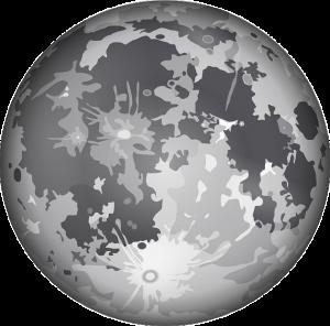 Mond-Globus